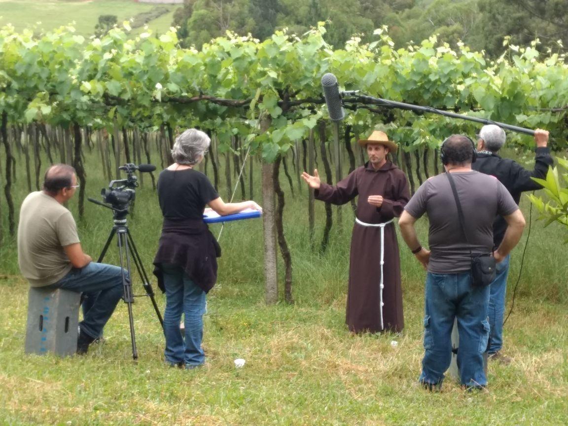 """Filmagens de """"Legado Italiano"""" em Vila Flores"""