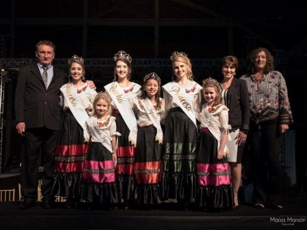 Taís Bergamin Kememerich é eleita rainha da 8ª Festa In Vêneto