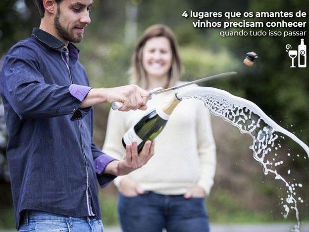 4 lugares que os amantes de vinhos precisam conhecer