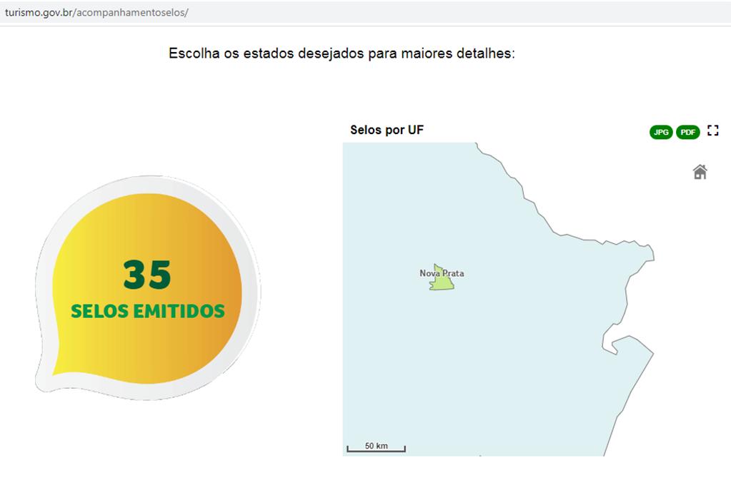 Nova Prata entre as 10 cidades gaúchas com mais selos de turismo