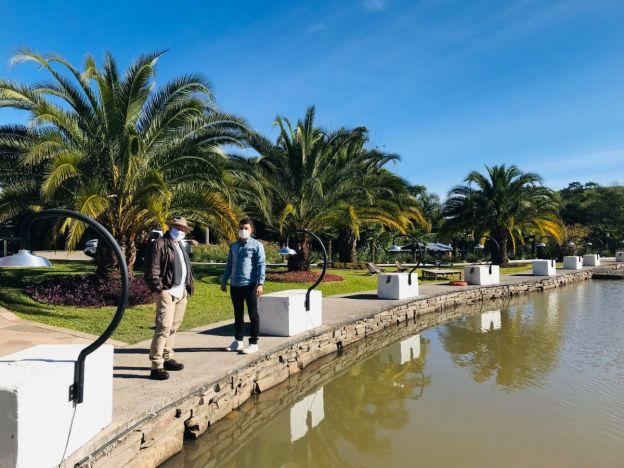 Vila Flores recebe visita de guia turístico